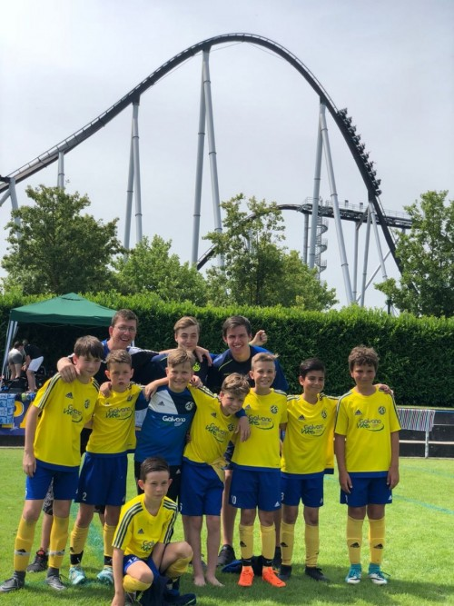Die U11 beim 17. Internationalen Europa Park Cup